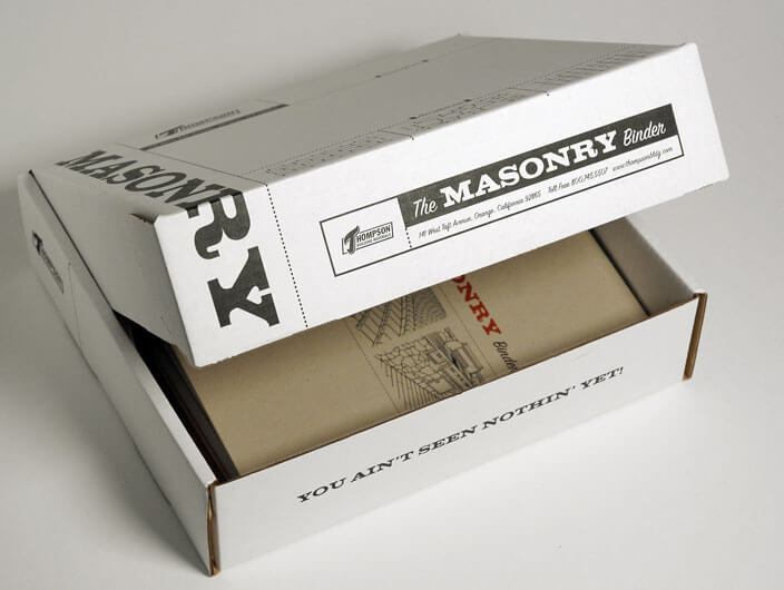 StudioConover - Thompson Building Materials | Thompson Building Materials Box