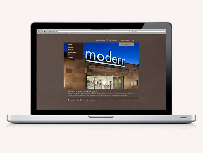 StudioConover - Modern Builders Supply | Modern Builders website