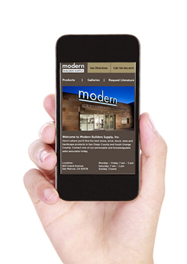 StudioConover - Modern Builders Supply | Modern Builders mobile site