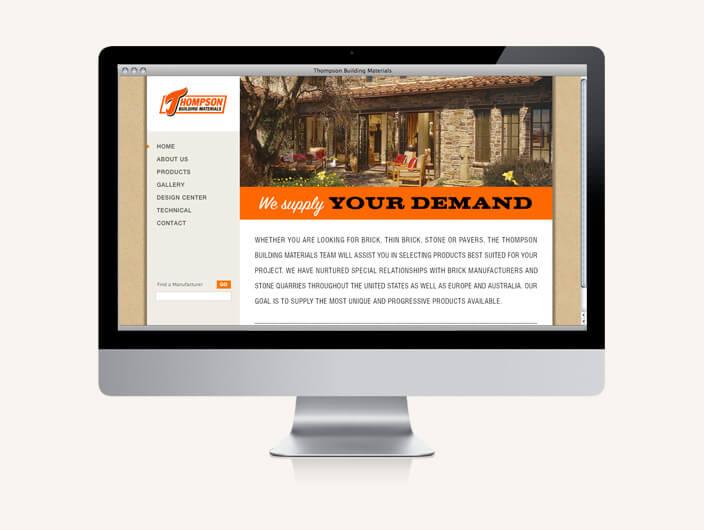 StudioConover - Thompson Building Materials | Thompson Building Materials website