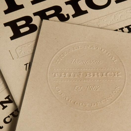 StudioConover - Thompson Building Materials | Thompson Building Materials Thin Brick