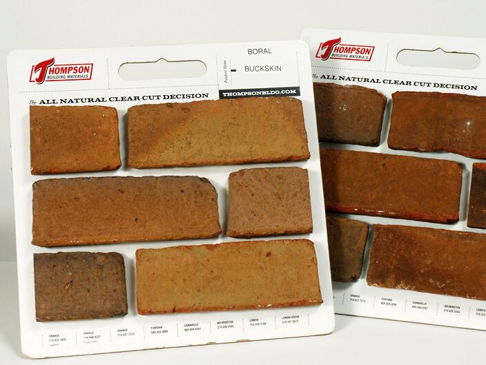 StudioConover - Thompson Building Materials | Thompson Building Materials sample boards
