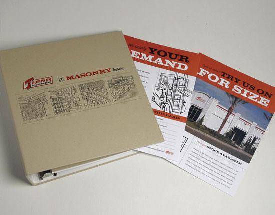 StudioConover - Thompson Building Materials | Thompson Building Materials Binder After