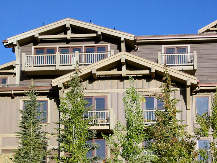 StudioConover - Architectural Design | 05 Four Seasons Teton Village front