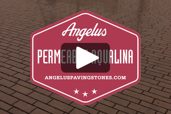StudioConover - Video | ANGELUS PAVING STONES: Permeable Aqualina