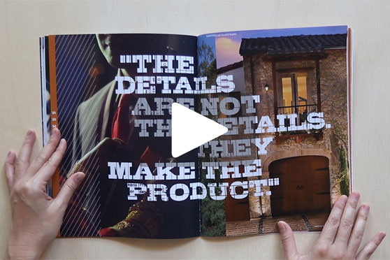 StudioConover - Video | CREATIVE MINES: Our New Brochure. Open for Business.