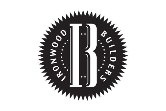 StudioConover - Brand Identity   Ironwood Builders Logo