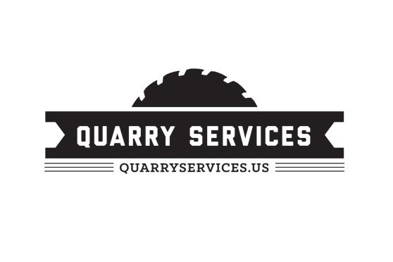 StudioConover - Brand Identity   Quarry Services Logo