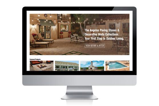 StudioConover - Web Development | Angelus Pavers Website