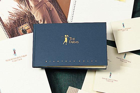 StudioConover - Brand Identity   Rancho Santa Fe Farms Logo