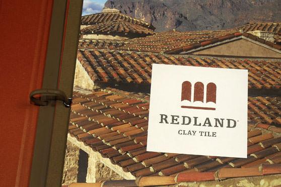 StudioConover - Brand Identity   Redland Clay Tile Logo