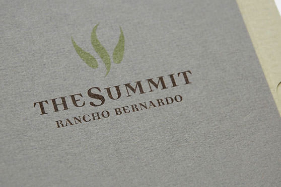 StudioConover - Brand Identity   The Summit Logo