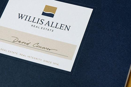 StudioConover - Brand Identity   Willis Allen Logo