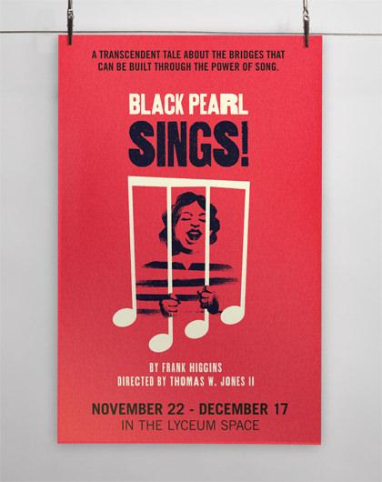 StudioConover - SAN DIEGO REPERTORY THEATRE   SDREP Black Pearl Sings! Poster